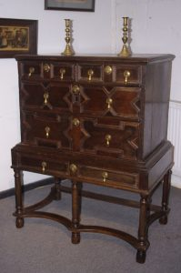 LATE 17TH CENTURY CHEST ON STAND